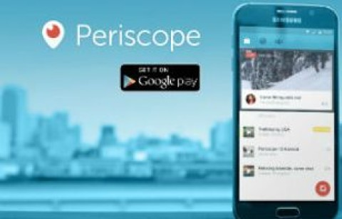 Periscope mostra o backstage