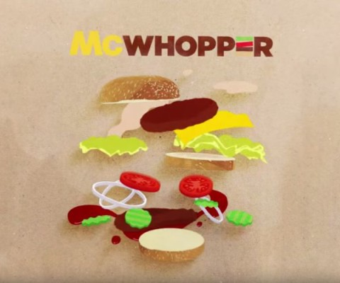 "Board premiada ""McWhopper"", Burger  King"