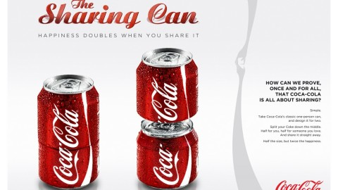 Coca-Cola Sharing Can – Board